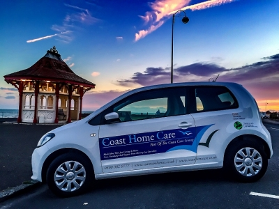 Coast Care Car On Bexhill Seafront