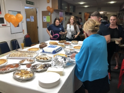 A buffet was available at our Charity quiz evening held to raise money for Alzheimers  Research UK. Quiz organised by Coast Home Care, St Leonards on Sea, East Sussex