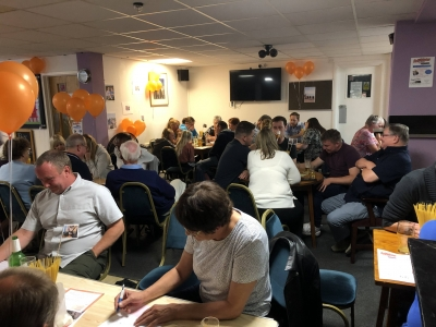 A fun quiz night was organised by Coast Home Care St Leonards on Sea East Sussex to raise money for Alzheimers Research UK