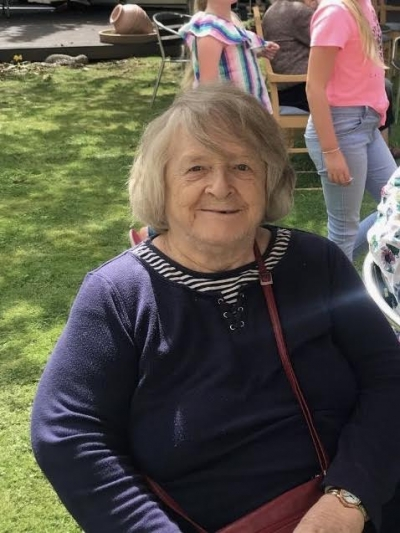 Sheila one of our lovely Coast Home Care Clients, based in St Leonards on Sea, Hastings, Sussex. Specialist dementia care.