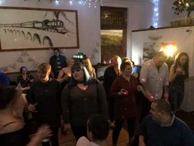 Coast Care Home and Coast Home Care Staff Christmas Party. Specialist Dementia Care, Bexhill on Sea and St Leonards on Sea, East Sussex