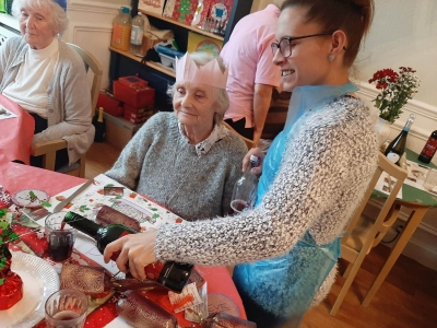 Coast Home Care Clients joined residents at Whitebeach and Whitebriars Residential Care Homes, St Leonards on Sea and Bexhill on Sea, East Sussex